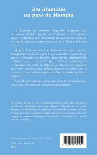 4eme Des illuminés au pays de Mampia. Roman