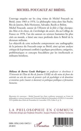 4eme Michel Foucault au Brésil
