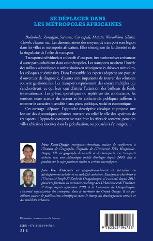4eme Se déplacer dans les métropoles africaines