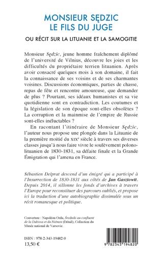 4eme Monsieur Sedzic