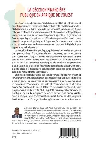 4eme La décision financière publique en Afrique de l'Ouest