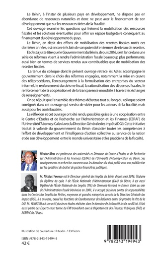 4eme Bénin : les recettes publiques en débats