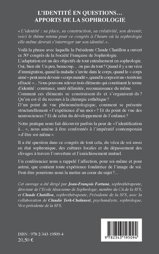 4eme L'identité en questions... apports de la sophrologie