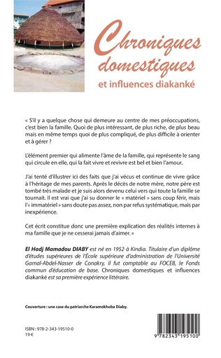 4eme Chroniques domestiques et influences diakanké