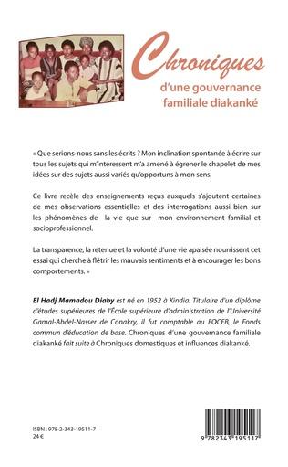 4eme Chroniques d'une gouvernance familiale diakanké