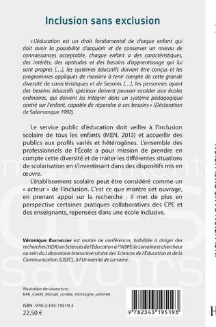 4eme Inclusion sans exclusion