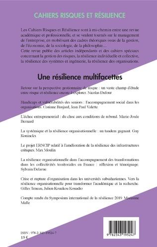 4eme Une résilience multifacettes