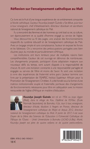 4eme Réflexion sur l'enseignement catholique au Mali