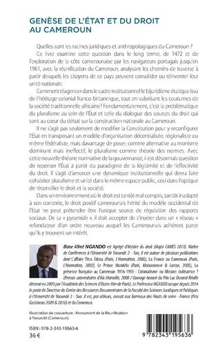4eme Genèse de l'Etat et du droit au Cameroun (1472-1961)