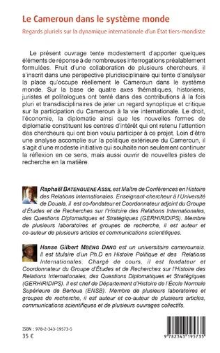 4eme Le Cameroun dans le système monde