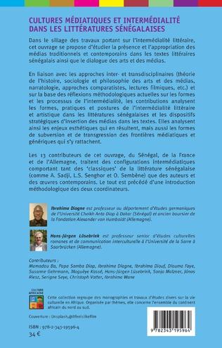 4eme Cultures médiatiques et intermédialité dans les littératures sénégalaises