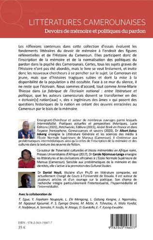 4eme Littératures camerounaises