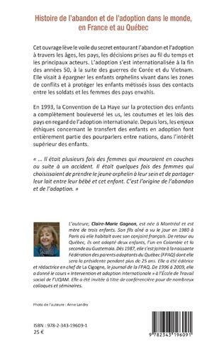 4eme Histoire de l'abandon et de l'adoption dans le monde, en France et au Québec
