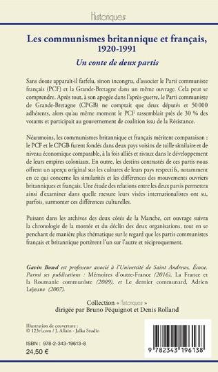 4eme Les communismes britannique et français, 1920-1991