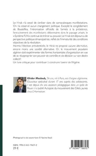 4eme Secouée par le Hirak : l'Algérie à la croisée des chemins