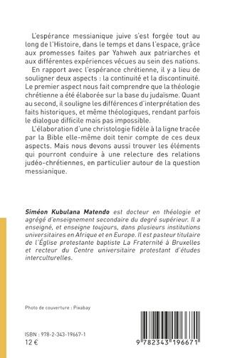 4eme Messianisme juif et espérance chrétienne