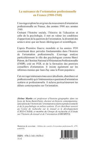 4eme La naissance de l'orientation professionnelle en France (1900-1940)