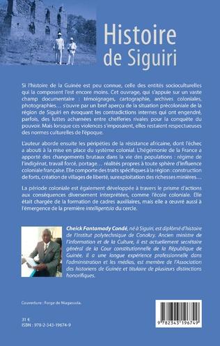 4eme Histoire de Siguiri (Nouvelle édition)