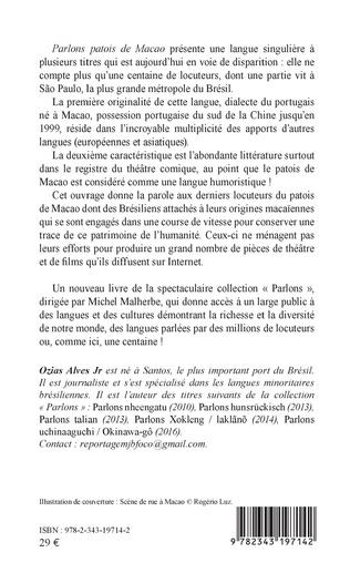 4eme PARLONS PATOIS DE MACAO