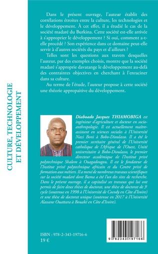 4eme Culture, technologie et développement