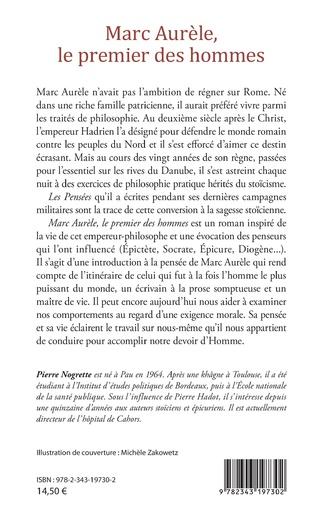 4eme Marc Aurèle, le premier des hommes
