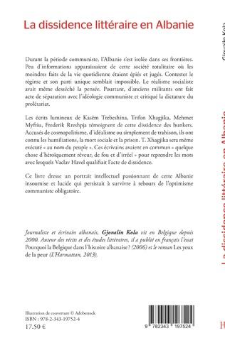 4eme La dissidence littéraire en Albanie