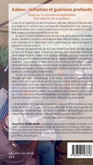 4eme Gabon : initiation et guérison profonde Tome 2