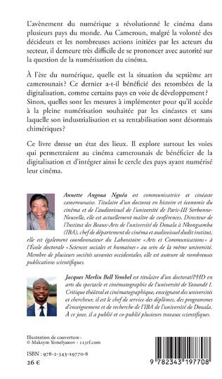 4eme Le cinéma camerounais à l'ère du numérique