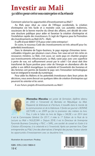 4eme Investir au Mali