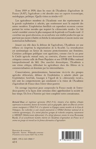 4eme L'Académie d'agriculture de France