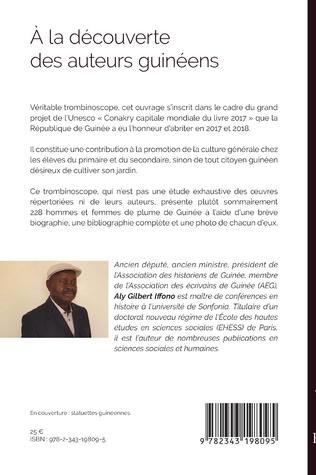 4eme A la découverte des auteurs guinéens