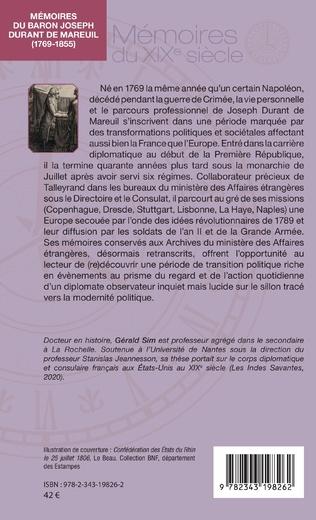 4eme Mémoires du baron Joseph Durant de Mareuil
