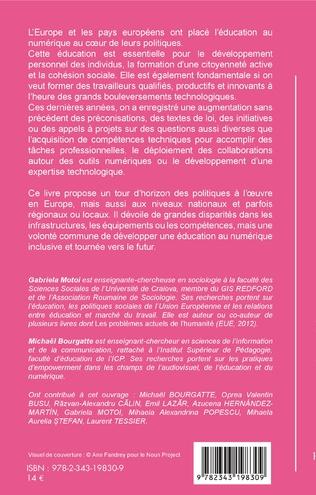 4eme Les politiques d'éducation au numérique en Europe