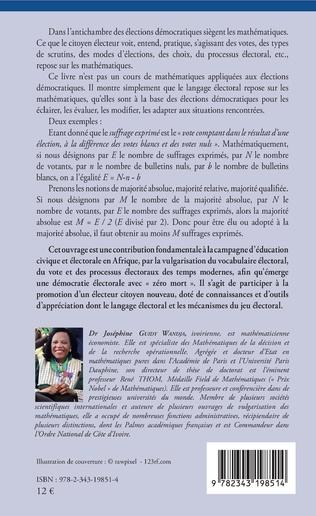4eme Elections démocratiques et mathématiques