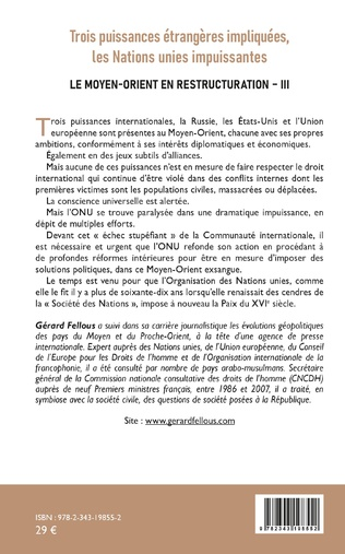 4eme Trois puissances étrangères impliquées, les Nations unies impuissantes