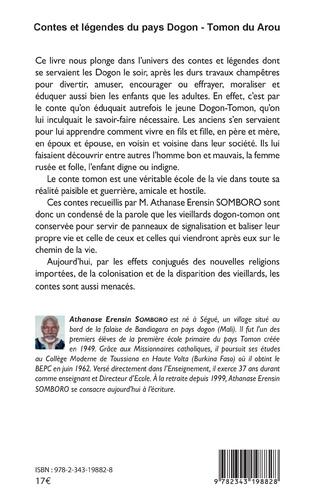 4eme Contes et légendes du pays Dogon - Tomon Duarou Tome 1
