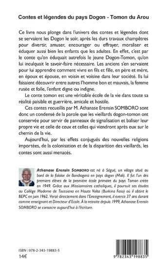 4eme Contes et légendes du pays Dogon - Tomon Duarou Tome 2