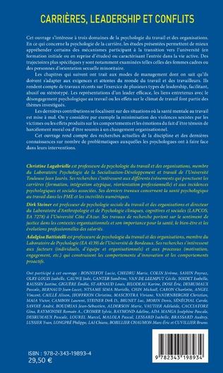 4eme Carrières, leadership et conflits