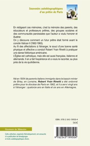 4eme Souvenirs autobiographiques d'un prêtre de Paris