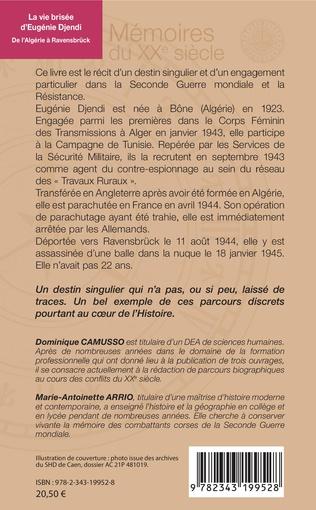 4eme La vie brisée d'Eugénie Djendi