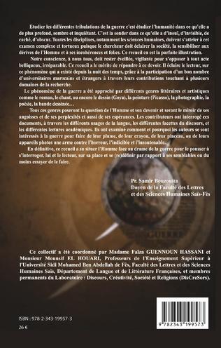 4eme La guerre et ses représentations dans la littérature et les arts