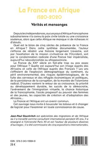 4eme La France en Afrique