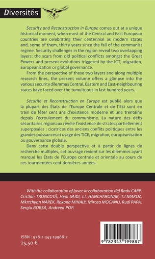 4eme Security and reconstruction in Europe