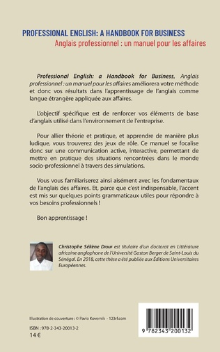 4eme Professional English : a Handbook for Business