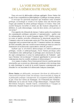 4eme La voie incertaine de la démocratie française