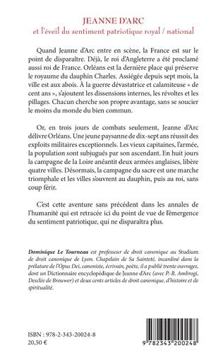 4eme Jeanne d'Arc et l'éveil du sentiment patriotique royal / national