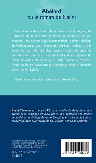 4eme Abélard ou le roman de Nalini