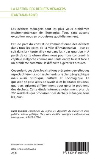 4eme La gestion des déchets ménagers d'Antananarivo