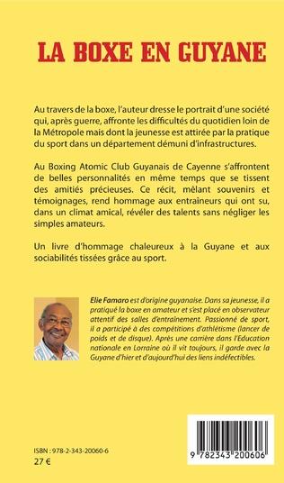 4eme La boxe en Guyane