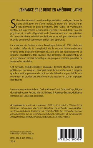 4eme L'enfance et le droit en Amérique latine